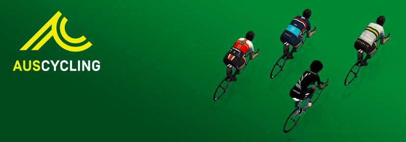 AusCycling Club National Esports Series banner