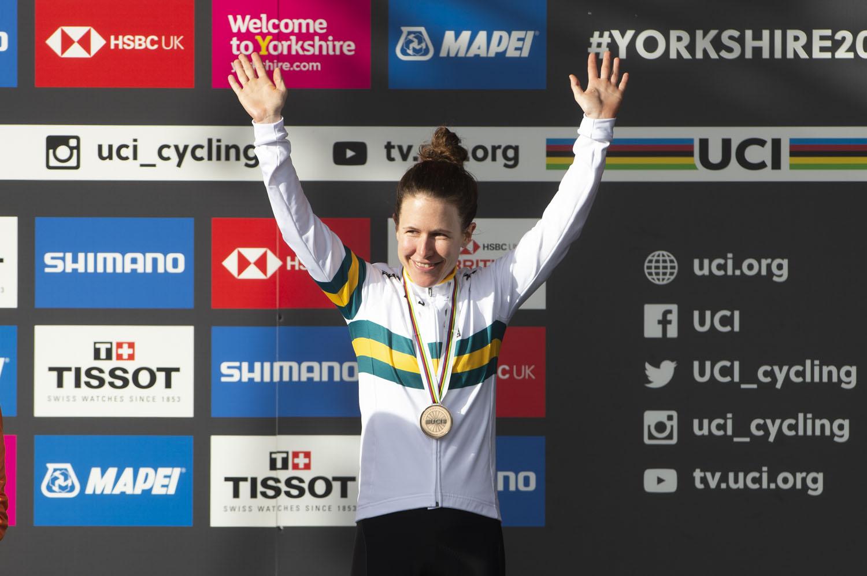 Amanda Spratt at 2019 Innsbruck Road World Championships