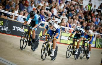 A Lightning Start To The Santos Festival of Cycling At Adelaide Track League