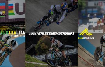 Australian Cycling Team Athlete Memberships 2020/2021