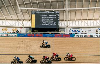 Howard, Welsford, Ankudinoff, and Manly Crowned National Madison Champs in Races for the Ages