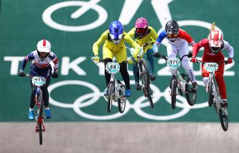 Australian BMX's ride into semi-finals after qualifying thriller